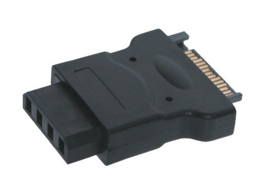 SATA 15-Pin Power to 4-Pin Molex Adapter from SATA to Molex Only $8.99  at USBGear.com