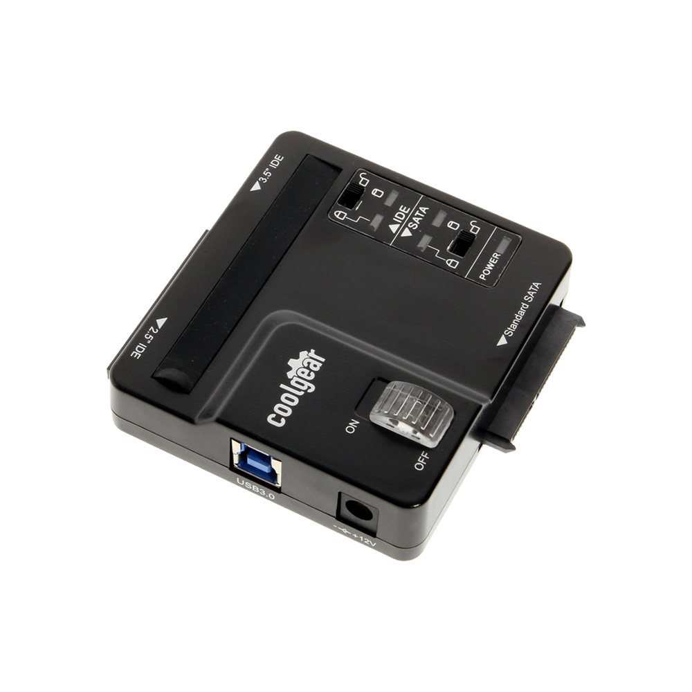 USB to SATA Adapters and IDE to SATA station drive enclosures