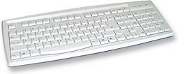 True-Touch Keyboard 104 Key PS2 SPANISH VERSION Only $4.99  at USBGear.com