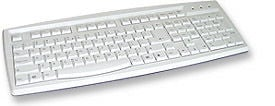 True-Touch Keyboard 104 Key PS2 SPANISH VERSION - Image A