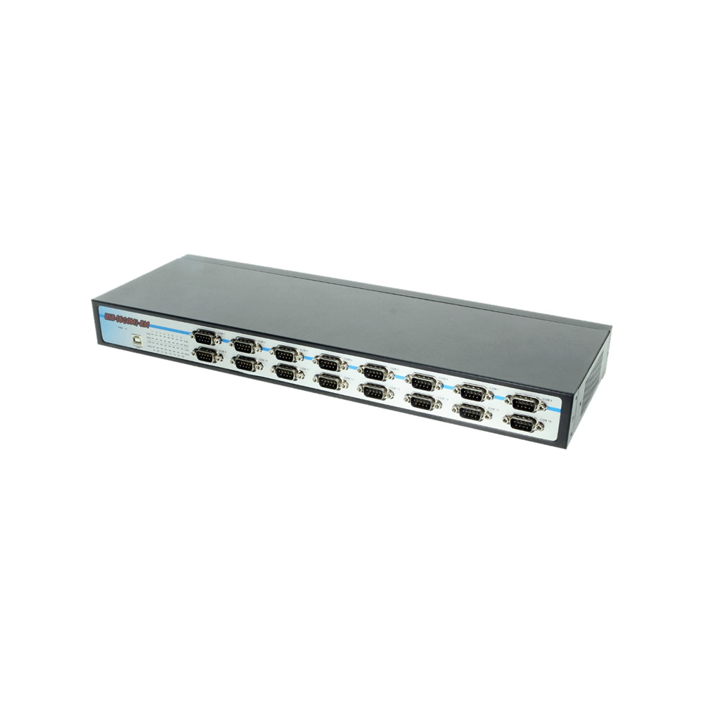 USB to Serial isolated 16 COM RS-232/422/485 adapter with DIN-Rail Only $549.89  at USBGear.com