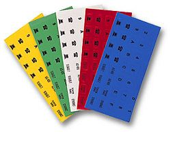 ICON labels, yellow 1sheet  Only $0.27  at USBGear.com
