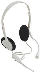 SoundSource Headset Stereo, w/ Microphone Only $2.90  at USBGear.com