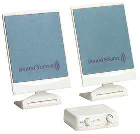 SoundSource 160 Flat Panel Powered Speaker System - Image A