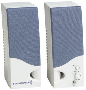 SoundSource 180 Super Powered Speaker System Only $8.15  at USBGear.com