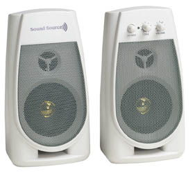 SoundSource 320 Super Powred Speaker System - Image A