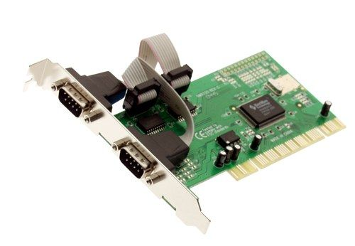 Dual Port RS-232 DB-9  PCI Cards 2 port Only $19.51  at USBGear.com