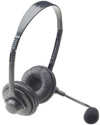 SoundSource Headset Executive, Stereo, w/ Mic - Image A
