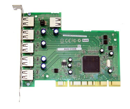 USB 2.0 NEC CHIP ADAPTEC USB Card PCI, 5 port - Image C