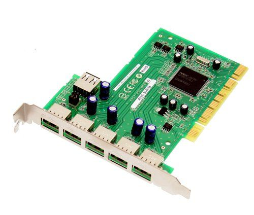 USB 2.0 NEC CHIP ADAPTEC USB Card PCI, 5 port - Image A