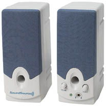 SoundSource Speaker System 1200 Series, 260W Only $5.90  at USBGear.com