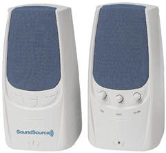 SoundSource Speaker System 2000 Series, 360W Only $8.25  at USBGear.com