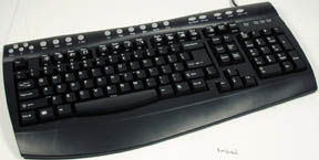 True-Touch Keyboard Office, PS/2, Grey Only $12.90  at USBGear.com