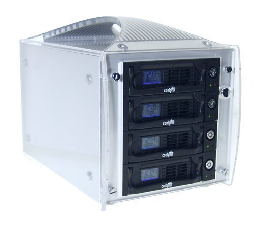 SATA II External EZ-Bay Portable 4-Sata Drive MultiLane Enclosure Only $299.89  at USBGear.com