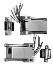 DB9 Modular Adapters 6 wire, DB9 to RJ12 - Image A