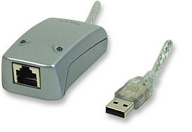 INT USB to Ethernet Adapter 10/100, USB2.0 Only $29.50  at USBGear.com