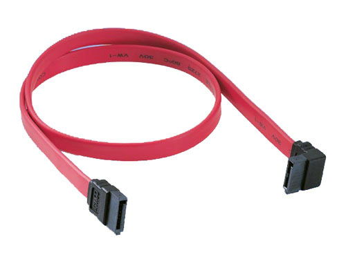7-pin internal SATA cable with angle molding Only $2.99  at USBGear.com