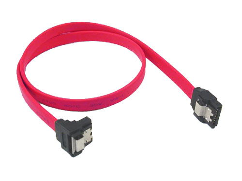 7-pin internal SATA angled end cable with metal latch Only $2.99  at USBGear.com