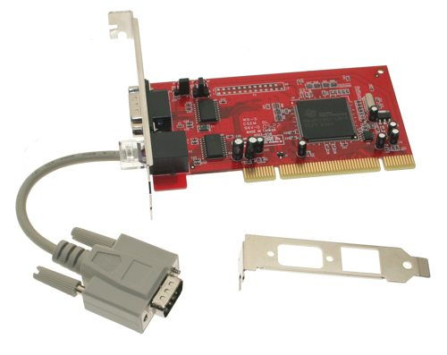 db-9 low profile serial adapter rs-232