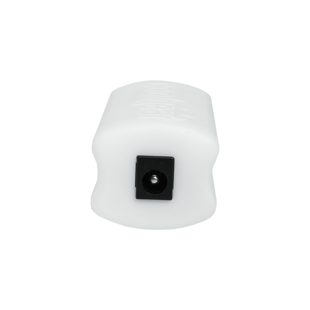 22W DC to USB-PD White Power Pod Adapter for Power Delivery 2.1MM Jack - Image B
