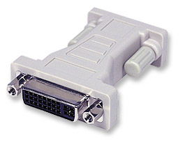 MH Digital Video Adapter DVI Analog DV29F to HD15M Only $8.50  at USBGear.com