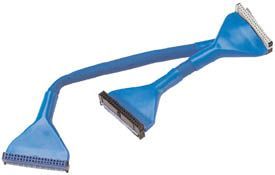 MH IDE ATA100 Round Cable 3 conn, 24in, blue Only $3.30  at USBGear.com