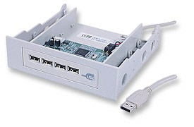 MH USB 2.0 Hub 4 port, Int, bay mount Only $23.80  at USBGear.com