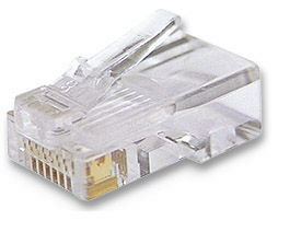 ICN Modular Plug Cat6,RJ45,Unshielded,Stranded Only $0.30  at USBGear.com