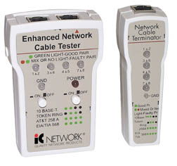 IC Network Cable Tester RJ45, Enhanced - Image A