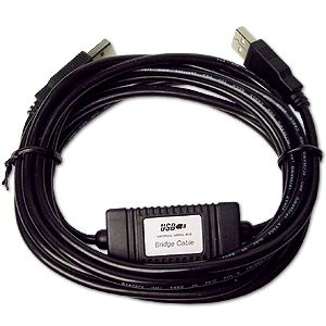 10ft System to System Bridge Cable Data Transfer Only $19.00  at USBGear.com