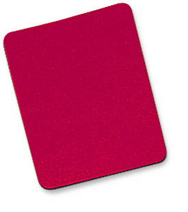 MH Mouse Pad Foam, 6mm, Red, Bulk - Image A