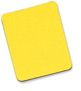 MH Mouse Pad Foam, 6mm, Yellow, Bulk - Image A