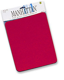 MH Mouse Pad Foam, Red, Retail - Image A