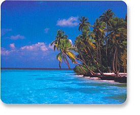 MH Designer Mouse Pad Maldives Only $1.95  at USBGear.com