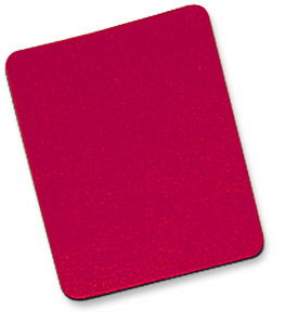 MH Premium Mouse Pad Rubber, Red Only $0.99  at USBGear.com