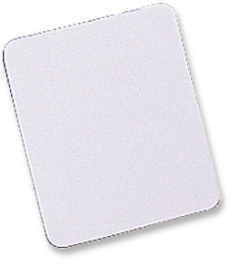 MH Premium Mouse Pad Rubber, White Only $0.99  at USBGear.com