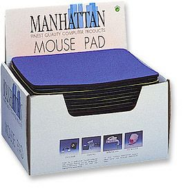 MH Mouse Pad Display Box 20 Pieces, Blue - Image A