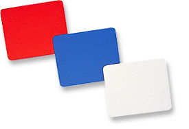 MH Mouse Pad PVC, Red, Bulk Packed - Image A
