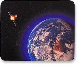 MH Designer Mouse Pad Satellite - Image A