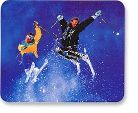 MH Designer Mouse Pad Skiers - Image A