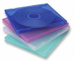 MH CD Case 2Pc Capacity,5 Assort Color/Pk Only $3.20  at USBGear.com