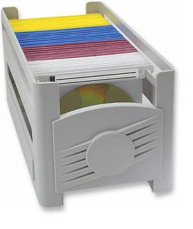 MH CD Storage Rack  Only $5.25  at USBGear.com