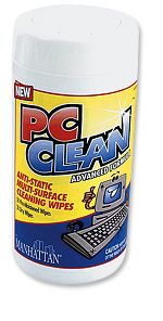 PC Clean Wet/Dry Wipes         Only $5.22  at USBGear.com
