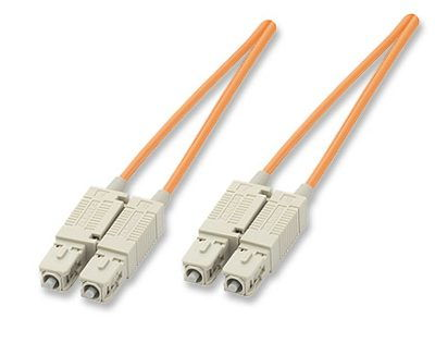 ICN Fiber Optic Patch Cable SC/SC, Duplex, 5m Only $21.90  at USBGear.com