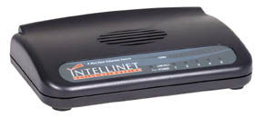 Intellinet 10/100 Switch 5 Port, Desktop - Image A