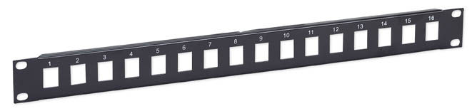 IC Network Blank Patch Panel 16 Port, 1 Level Only $5.90  at USBGear.com