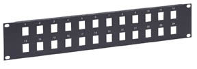 IC Network Blank Patch Panel 24 Port, 1 Level Only $9.90  at USBGear.com