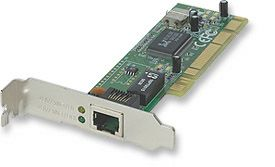 INT Network Card PCI 10/100 Low Profile Only $8.99  at USBGear.com