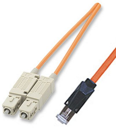 ICN Fiber Optic Patch Cable SC/MTRJ, 1m Only $25.40  at USBGear.com