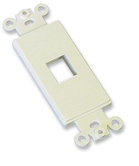 ICN Decora Wallplate Ivory, 1 Outlet Only $1.45  at USBGear.com